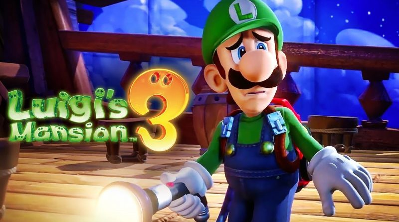 Luigi's Mansion 3 – Recensione, Luigi l'acchiappa fantasmi.