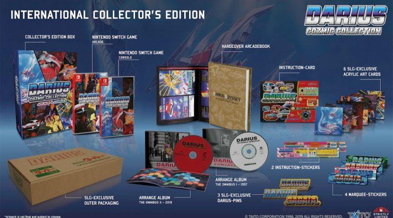 Strictly Limited Games: Darius Cozmic Collection in prenotazione.