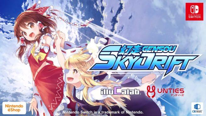 Gensou SkyDrift uscirà per Switch il 12 dicembre