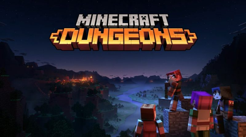 Minecraft Dungeons lancia aprile 2020