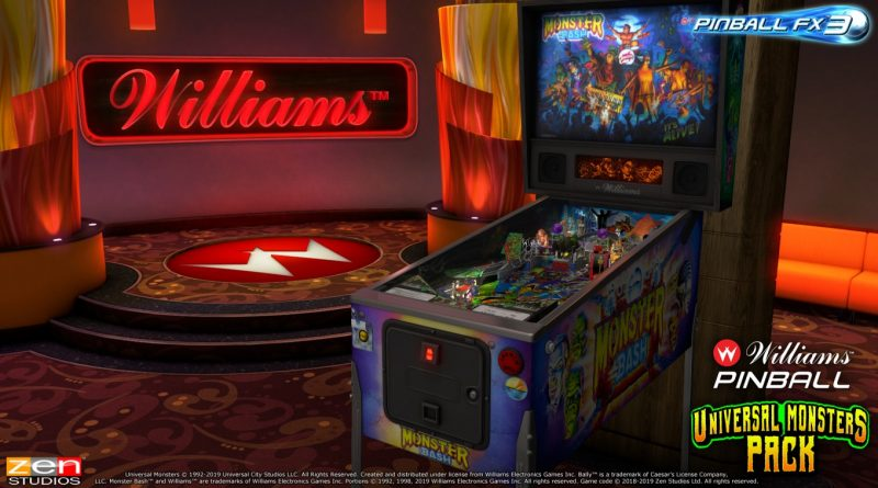 PINBALL FX3: Universal Monsters Pack-Recensione.