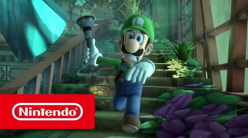 Luigi's Mansion 3 si aggiorna ora (versione 1.2.1)