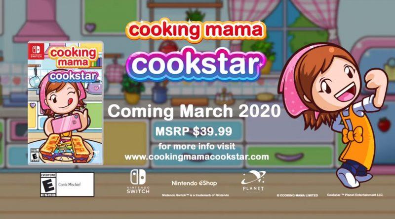 Cooking Mama: Cookstar, Nedgame svela il mese di uscita.