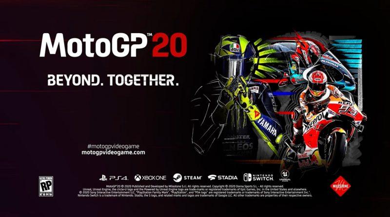 MotoGP 20 la versione retail conterrà al suo interno un codice download.