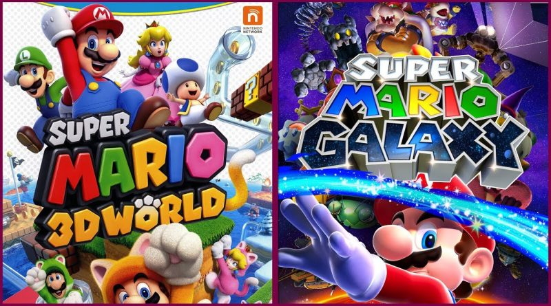 RUMOR – Super Mario Galaxy e Super Mario 3D World torneranno su Switch?