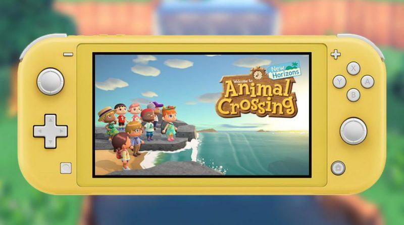Gamestop: nuovo bundle con Switch Lite + Animal Crossing New Horizons