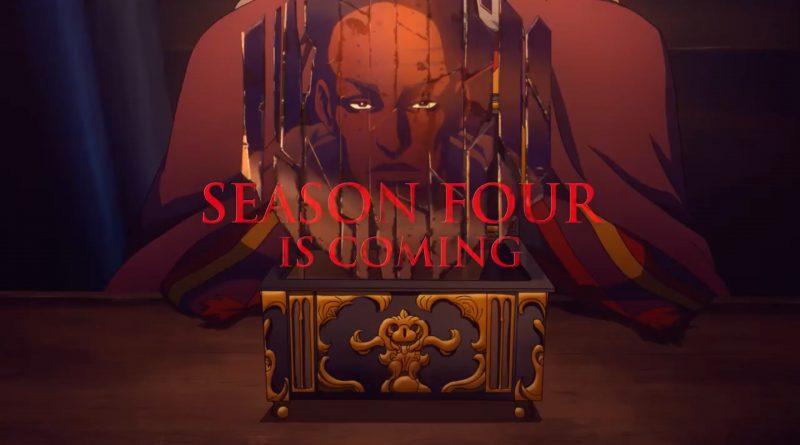 Castlevania – Annunciata la quarta stagione della serie Netflix.