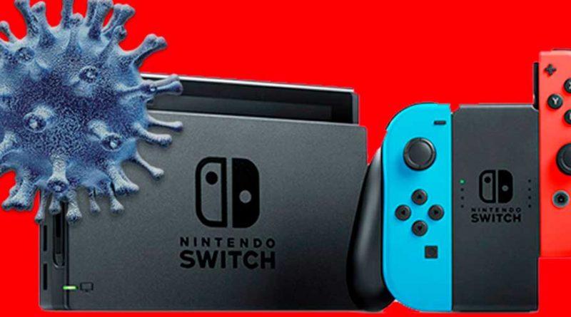 Nintendo Switch – Altri ritardi per le spedizioni in Giappone a causa del coronavirus.