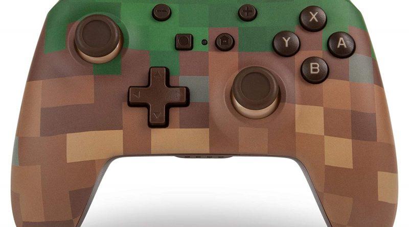 Minecraft: il nuovo wireless controller a tema prodotto da PowerA