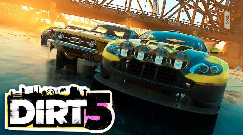 DiRT 5 nuovo gameplay con l'evento Ice Breaker