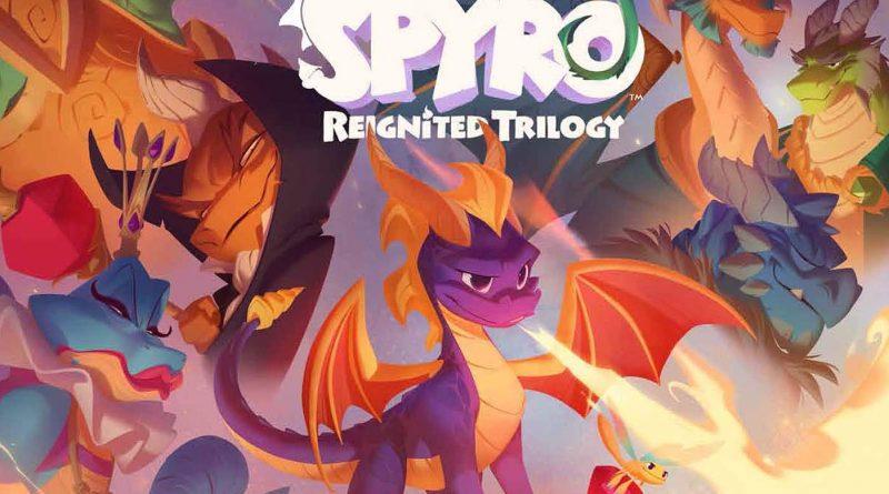 <h2 class='entry-title'>The Art of Spyro Reignited Trilogy – Pubblicata la copertina.</h2><h4 class='entry-subtitle'><span style='color:#808080;font-size:14px;'>Disponibile da luglio 2020.</span></h4>