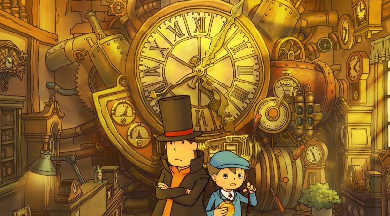 Professor Layton and the Lost Future in arrivo per iOS e Android.