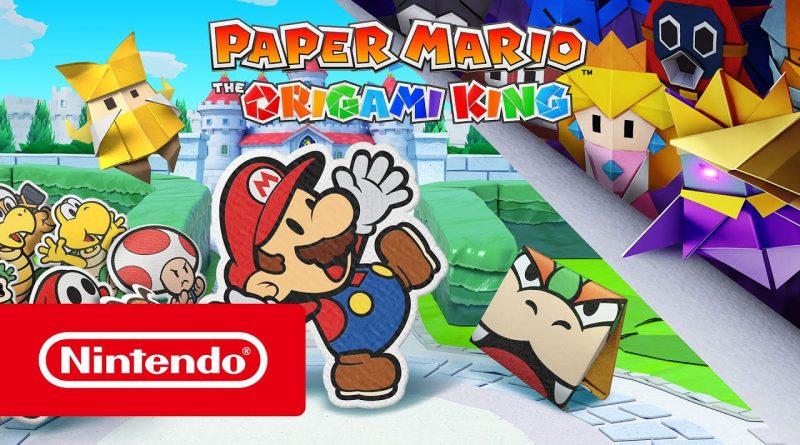 Paper Mario The Origami King: nessun punto esperienza per la versione Switch.