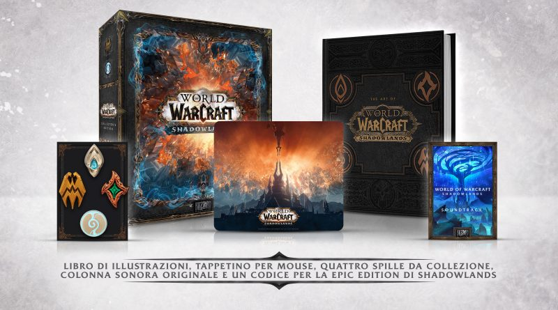 Presentata la collector edition di World of Warcraft: Shadow lands
