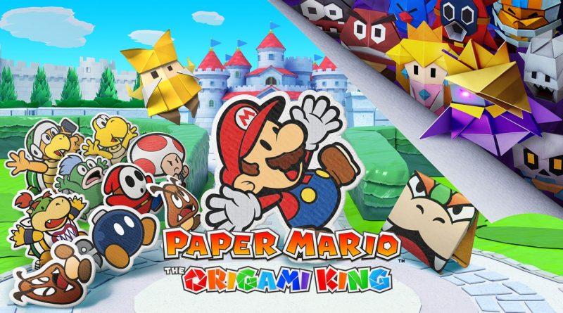 Paper Mario: The Origami King – nuovo spot pubblicitario per il Nord America