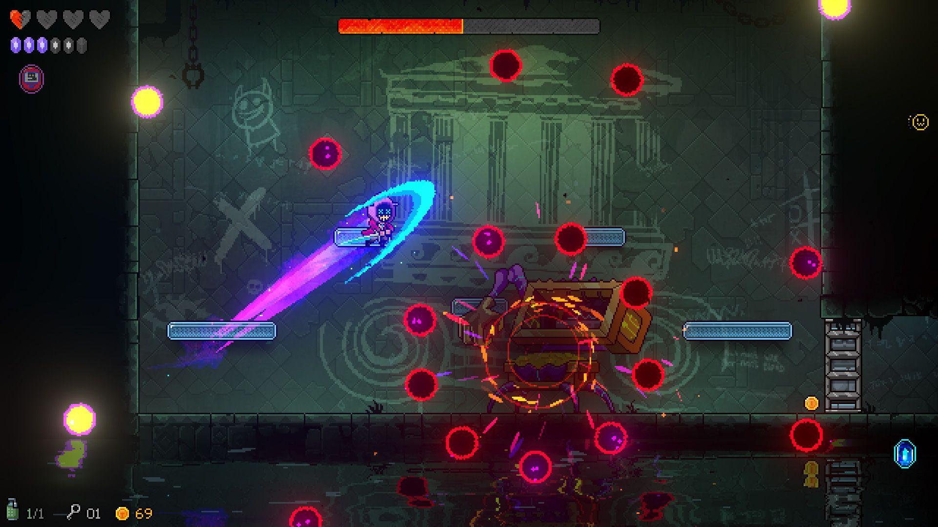 Neon Abyss, il folle platform d'azione con elementi roguelike dai ragazzi di Veewo Games - Recensione