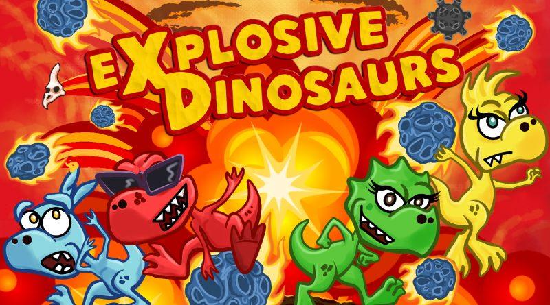 Explosive dinosaurs in arrivo su switch il 16 luglio.