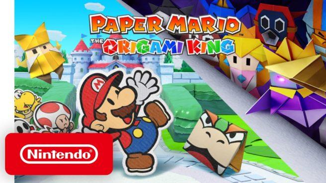 Paper Mario: The Origami King – Pubblicati degli spot TV giapponesi.