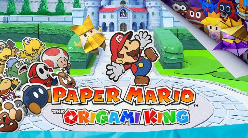 Paper Mario The Origami King- Recensione