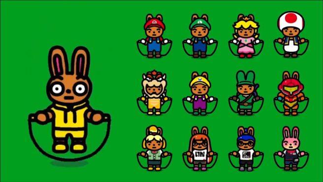 <h2 class='entry-title'>Jump Rope Challenge si aggiorna alla versione 1.1.0.</h2><h4 class='entry-subtitle'><span style='color:#808080;font-size:14px;'>Aggiunti, in particolare, dei costumi di Mario, Link, Samus etc ectc </span></h4>