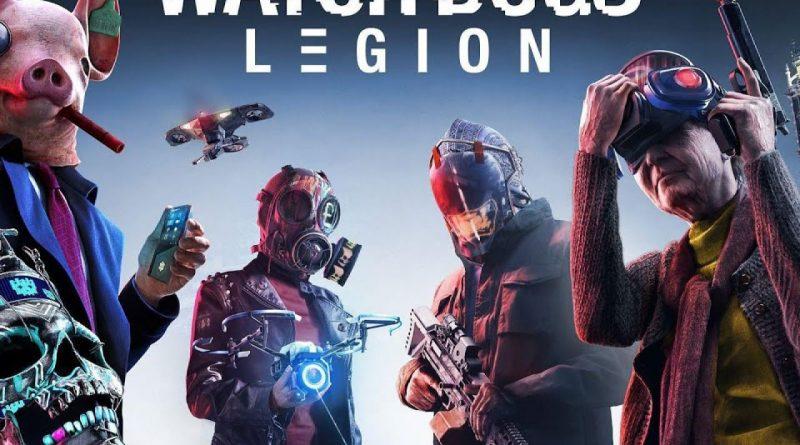 Trapelate delle immagini di Watch Dogs Legion