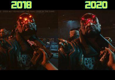 Cyberpunk 2077: miglioramenti grafici notevoli negli ultimi 2 anni.