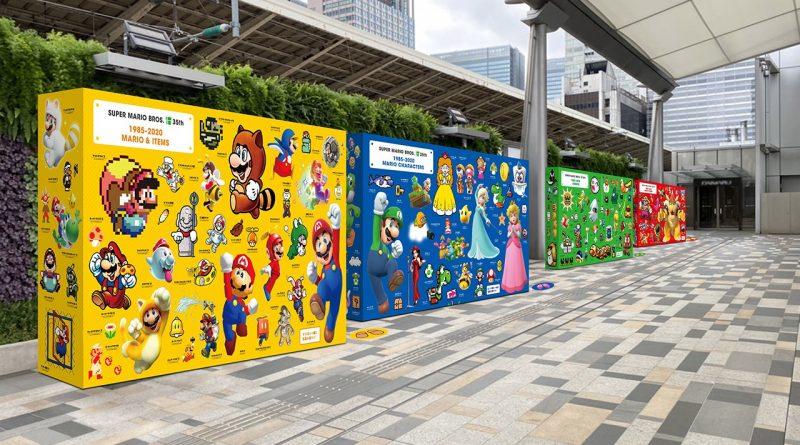 Nintendo collabora con la linea ferroviaria JR East per portare in Giappone le attività del 35 ° anniversario di Super Mario Bros.