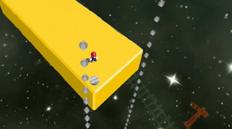 Super Mario 3D All-Stars – I giocatori notano dei cubi usati per il debug in Super Mario Sunshine.