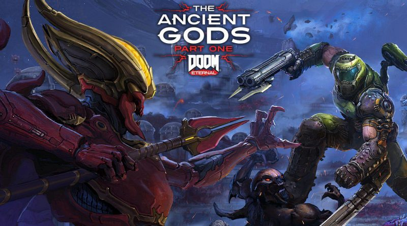 <h2 class='entry-title'>DOOM Eternal: il DLC The Ancient Gods Parte 1 è disponibile da oggi.</h2><h4 class='entry-subtitle'><span style='color:#808080;font-size:14px;'>Si ritorna a respirare aria d'inferno con questo primo DLC!</span></h4>