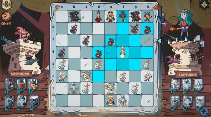 """Il gioco di scacchi in stile cartone animato """"Brawl Chess"""" verrà lanciato il 26 novembre per Xbox One e Switch, nel 2021 per PC"""