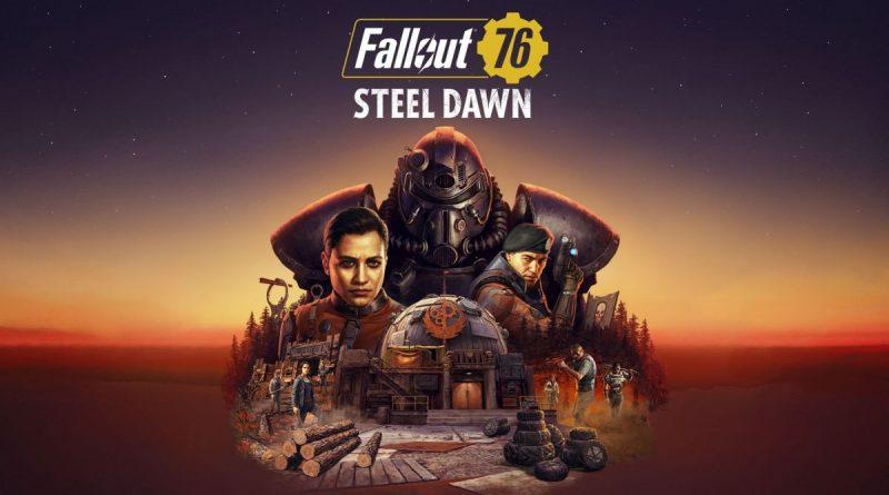 """<h2 class='entry-title'>Fallout 76: ecco il nuovo trailer dedicato alla questline """"Alba d'Acciaio"""".</h2><h4 class='entry-subtitle'><span style='color:#808080;font-size:14px;'>Questo contenuto aggiutnivo arriverà a settembre.</span></h4>"""