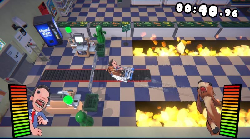 <h2 class='entry-title'>Couch Co-op Carnage in Aisle 4! Supermarket Shriek è ora disponibile!</h2><h4 class='entry-subtitle'><span style='color:#808080;font-size:14px;'> Inoltre: Evergate arriva su Xbox Series X</span></h4>