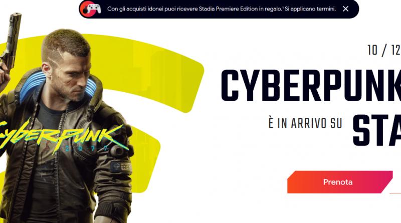 GOOGLE fa la mossa! Con cyberpunk 2077 si torna a parlare di STADIA! (video)
