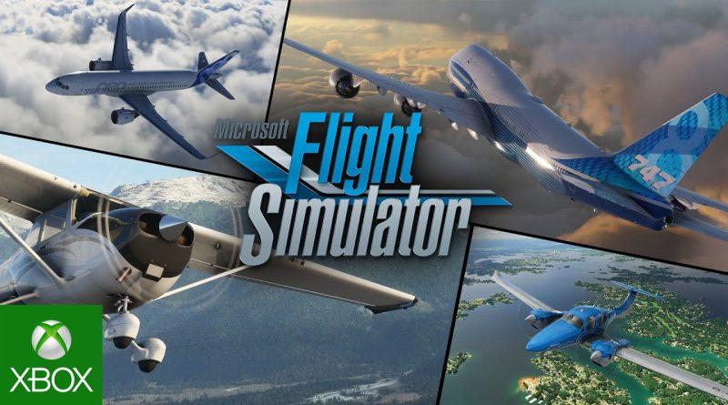 Microsoft Flight Simulator, è arrivata la neve in tempo reale.