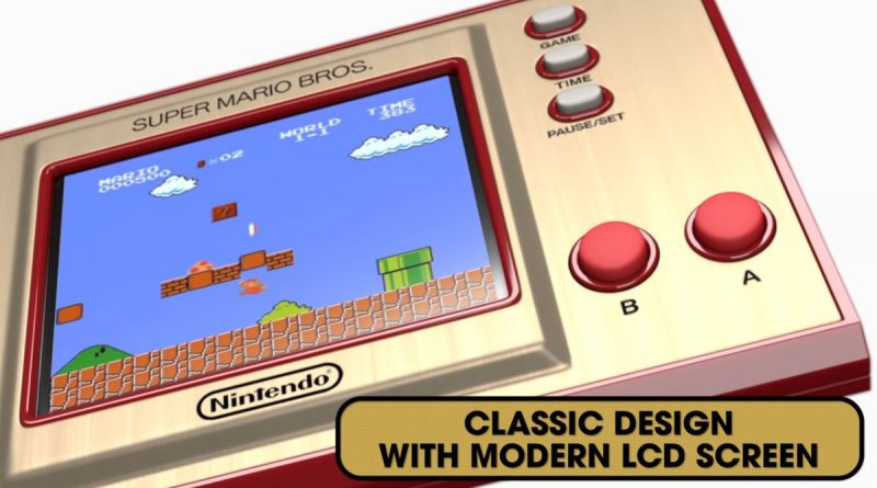 L'hacker stacksmashing fa girare altri giochi sul Game & Watch: Super Mario Bros.