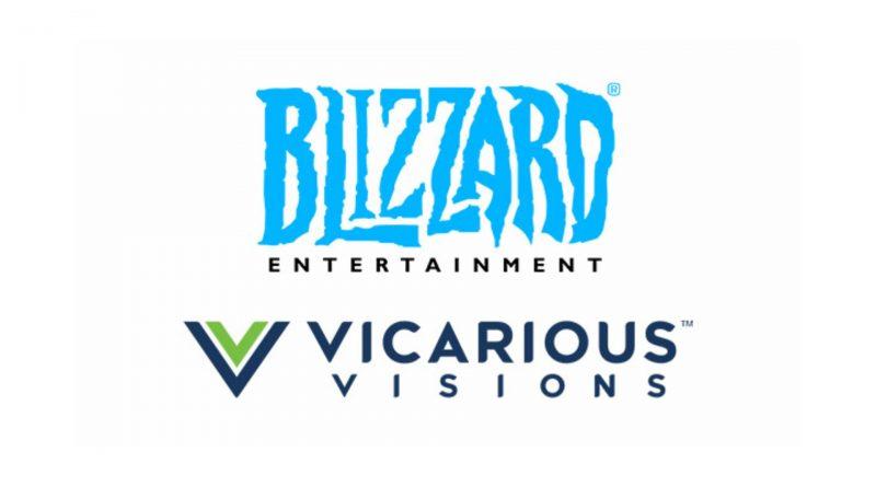 Vicarious Visions è in fase di fusione con Blizzard Entertainment.