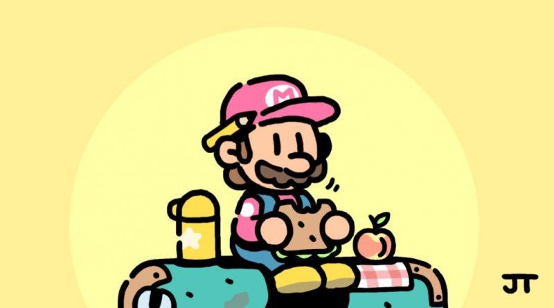 Super Mario viene disegnato dall' art director di Pokémon Spada e Scudo.