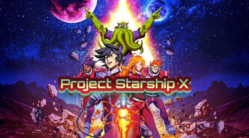 Project Starship X in arrivo su Nintendo Switch.