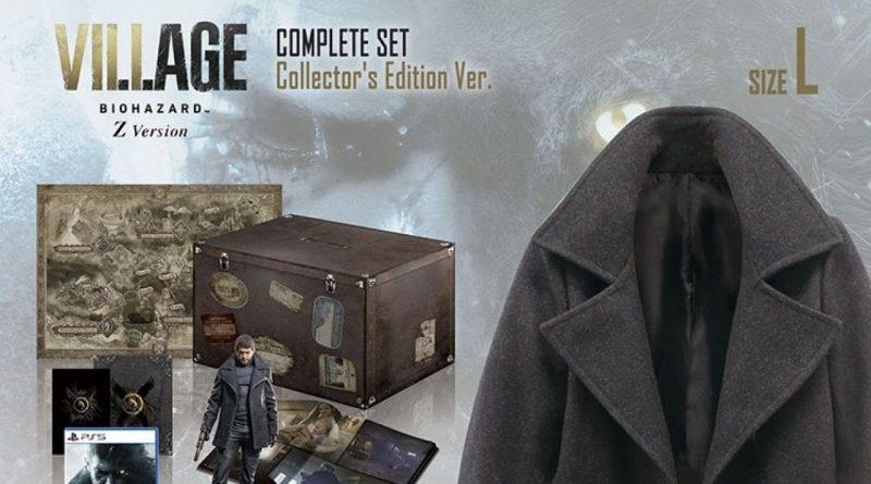 Resident Evil Village – tra le varie collector's, una contiene la giacca di Chris