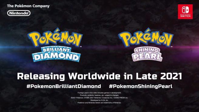 Annunciati Pokémon Diamante Lucente e Pokémon Perla Splendente!