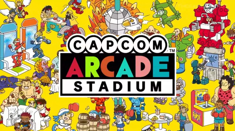 Capcom Arcade Stadium disponibile ora su Nintendo Switch