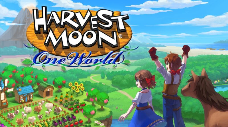 Harvest Moon: One World è ora disponibile su Nintendo Switch