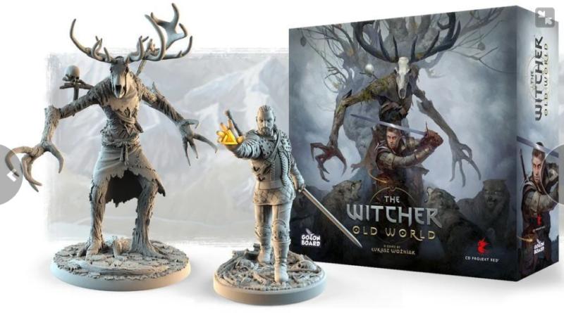 The Withcer: Old World: nuovo gioco da tavolo in arrivo a maggio.