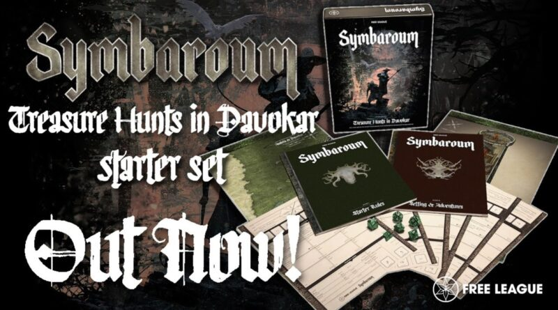 Il Symbaroum Starter Set - Treasure Hunts in Davokar
