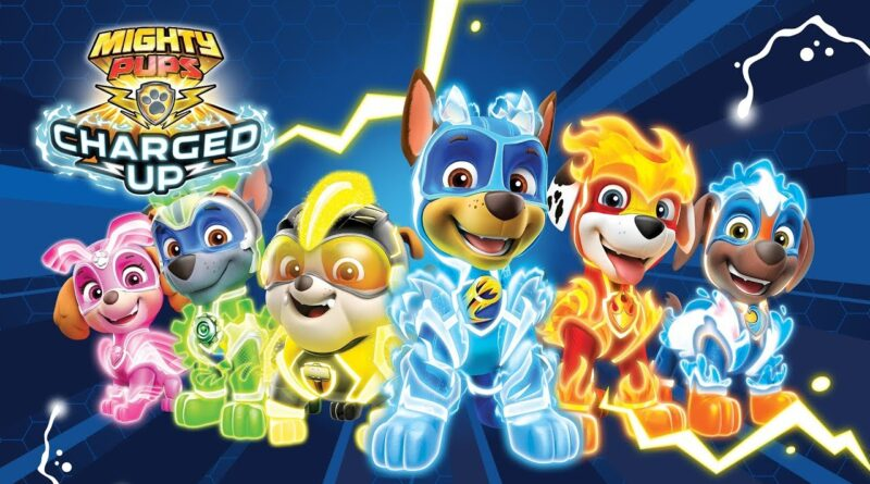 PAW PATROL: ARRIVA LA NUOVA LINEA CHARGED UP