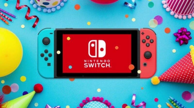 Nintendo Switch compie 4 anni!