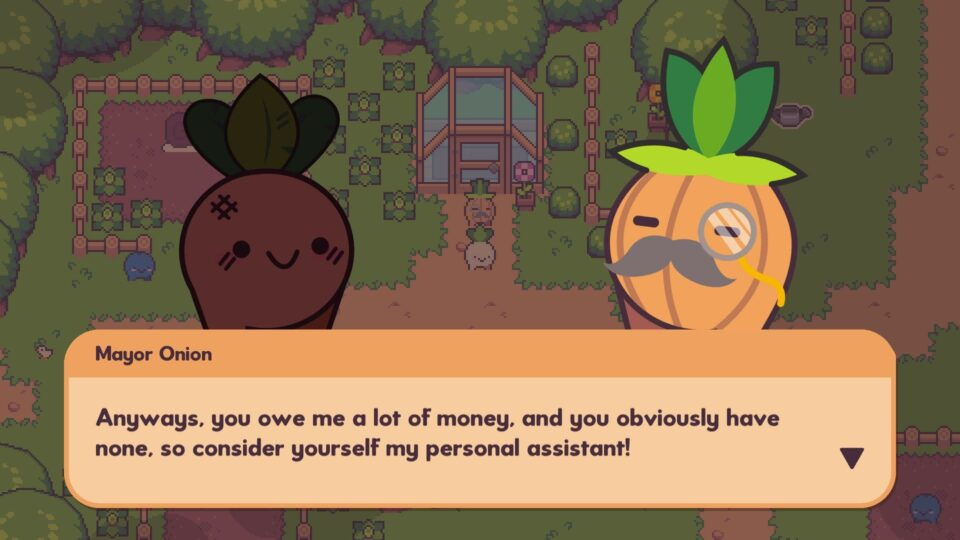 Turnip Boy Commits Tax Evasion (Switch) - Recensione