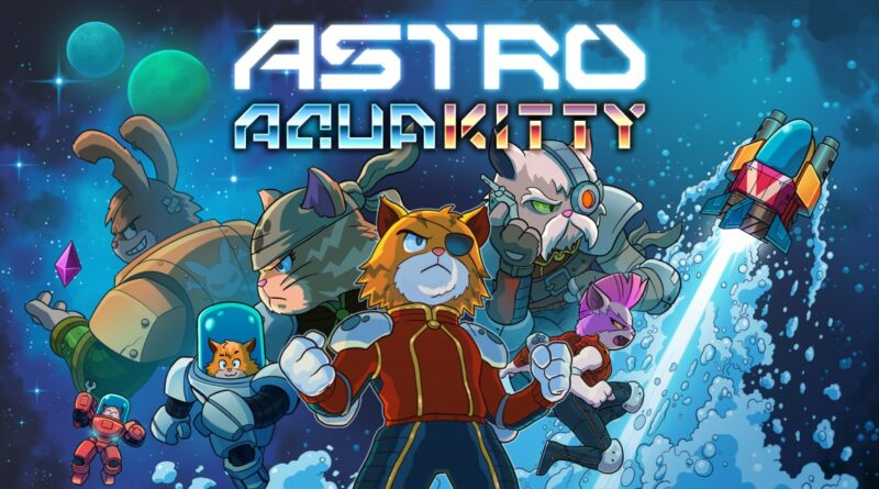 Astro Aqua Kitty disponibile ora sull'eShop