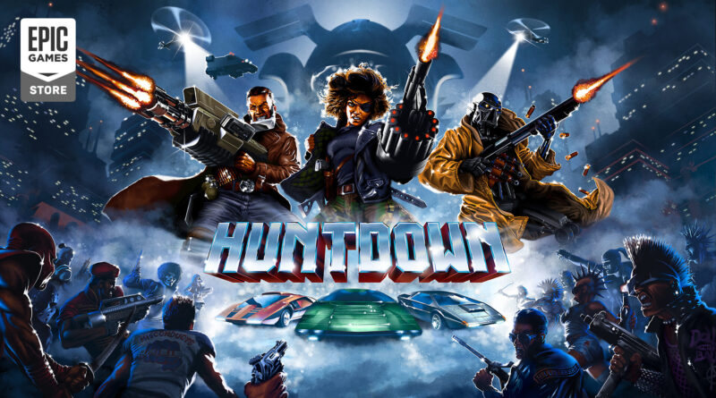 Huntdown: annunciata la data di uscita su steam e una nuova modalità di gioco