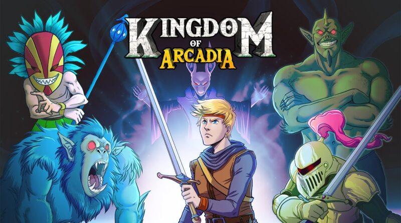 MetroidVania Kingdom of Arcadia in stile retrò verrà lanciato la prossima settimana!